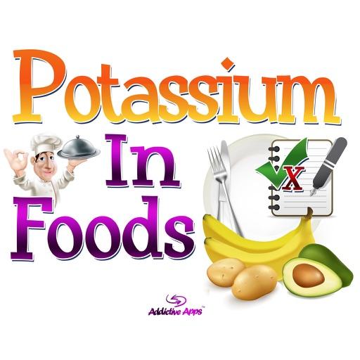 Potassium In Foods.
