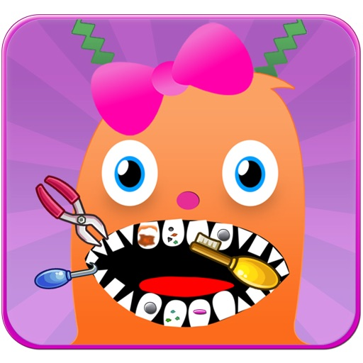 Funny Alien Dentist Office - Smash The End of a Tiny Cavity FREE