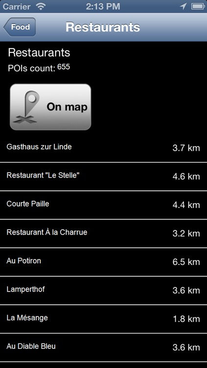 Alsace, France Offline Map - PLACE STARS screenshot-3