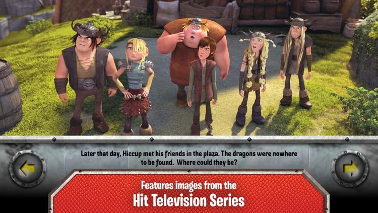 DreamWorks' Dragons: Defenders of Berk Storybook Deluxe - iStoryTime Read Aloud Children's Picture Book screenshot-4