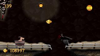 Gold Run : Mine Cart Battle Rush Heroes screenshot three