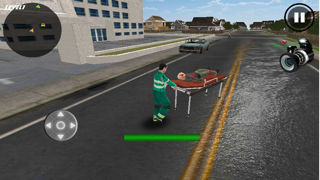 Crazy Ambulance King 3D screenshot three