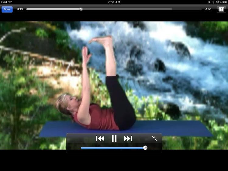Pilates for iPad screenshot-3