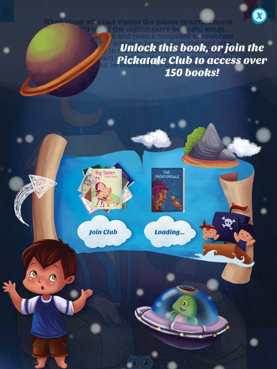 The Nightingale - Have fun with Pickatale while learning how to read! screenshot-4