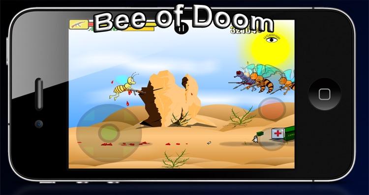 Bee of Doom Free screenshot-4