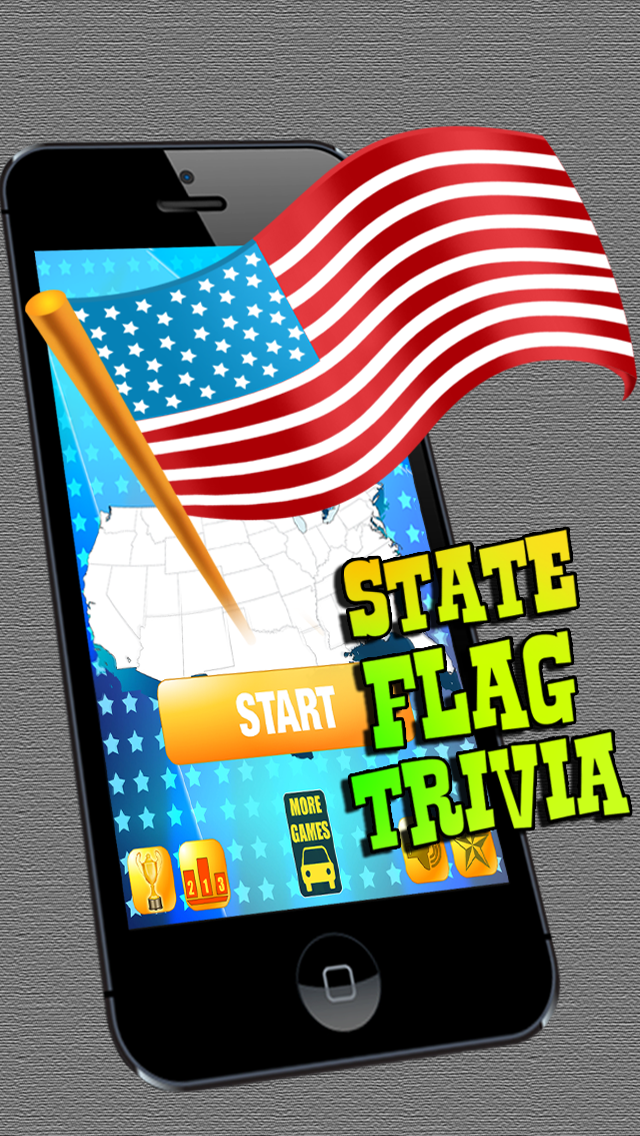 US Flag Trivia - Guess All The US States