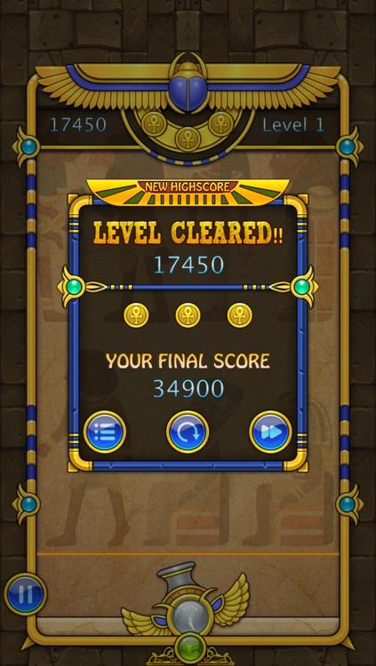 Bubble Shooter Egypt screenshot-4