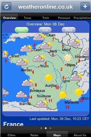 WeatherOnline screenshot-3