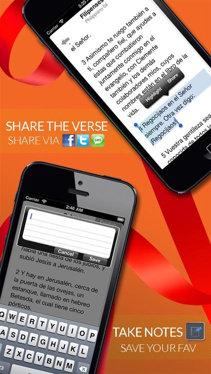Santa Biblia Reina Valera + Audio screenshot-4