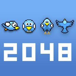 Blue Bird 2048 - Impossible Flappy Puzzle