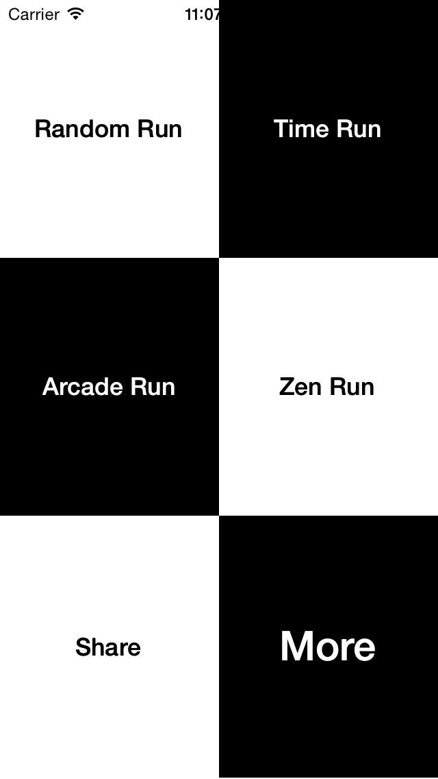 White Tiles- Don't touch white tiles screenshot one