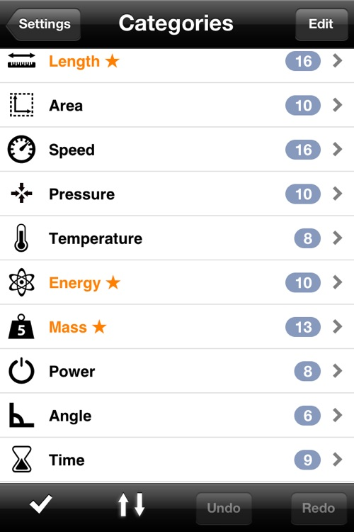 Measures Lite - Unit Converter screenshot-3