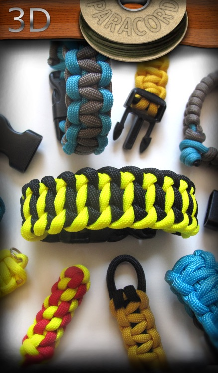 Paracord 3D: Animated Paracord Instructions