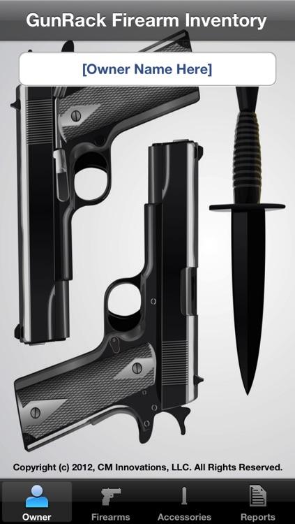 GunRack - Firearm Inventory