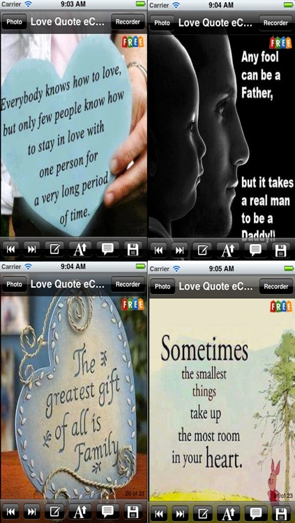 Love Quotes e-Cards. Customize and send love quote e-cards screenshot-4
