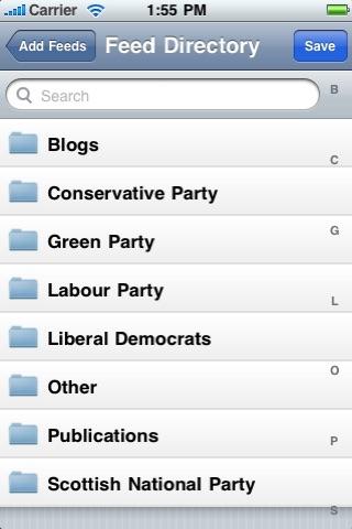 Politics - UK News