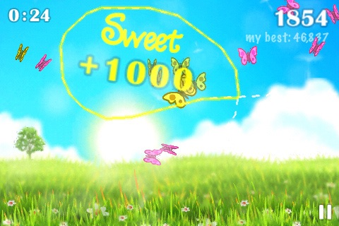 Flyloop: Butterfly Looping Fun screenshot-2