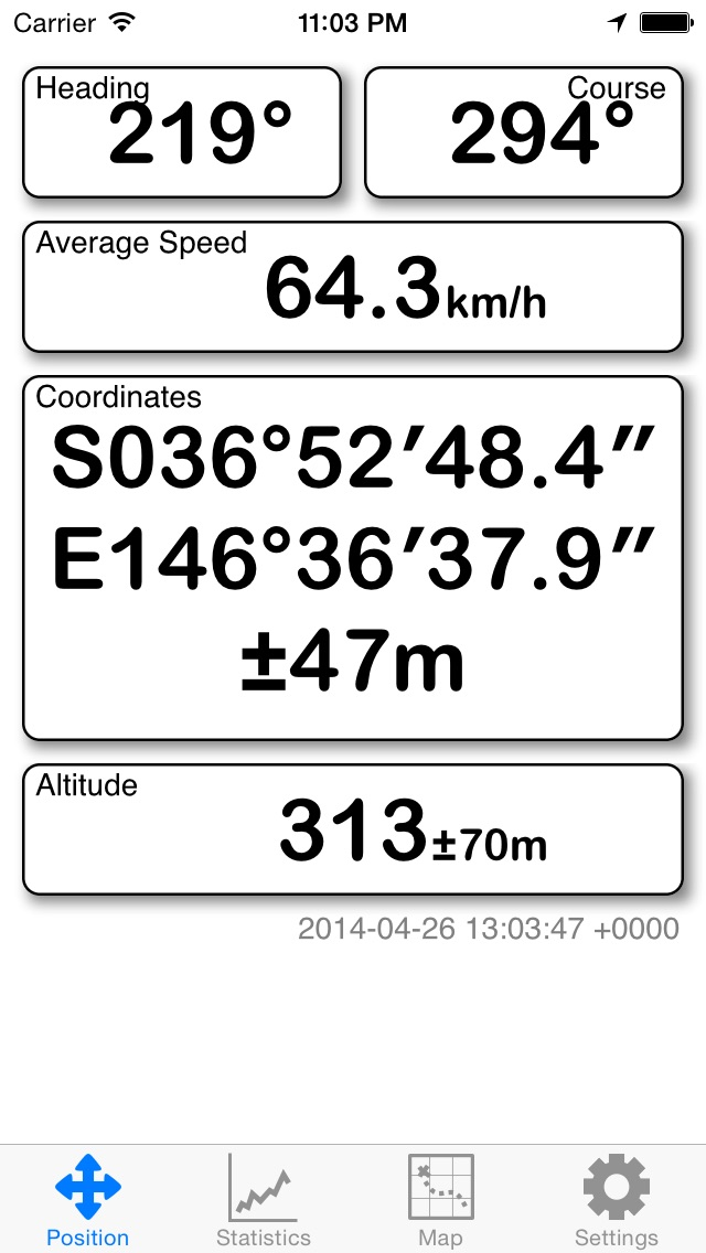 Screenshot for GPS in United States App Store