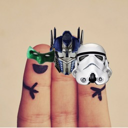 Hero Fingers - Put hero masks over your fingers!