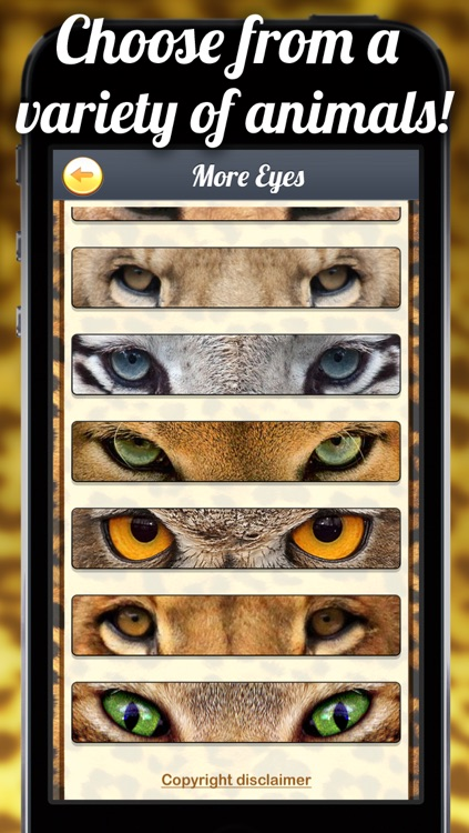 TigerEyes - Blend Yr Face to Ultra Awesome Tiger, Reptile or Cat Eyes Splits! screenshot-4