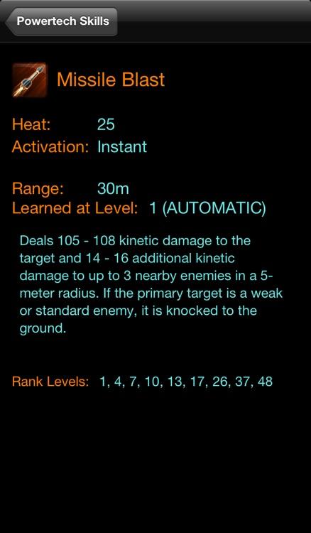 SWTOR Skill Build Calculator screenshot-3