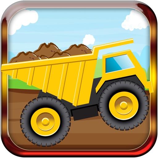 Строительство зданий Вождение игры По Большая Грязь Trucker Simulator игры для мальчиков Kids & Teens бесплатные