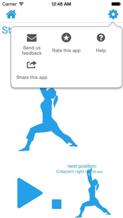 10 Minute Yoga Calisthenics Aerobic Routine Circuit Challenge Interval screenshot-3