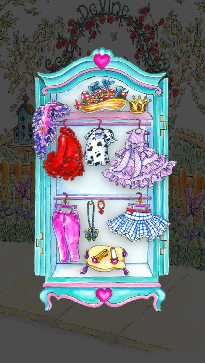Fancy Nancy Dress Up screenshot-1