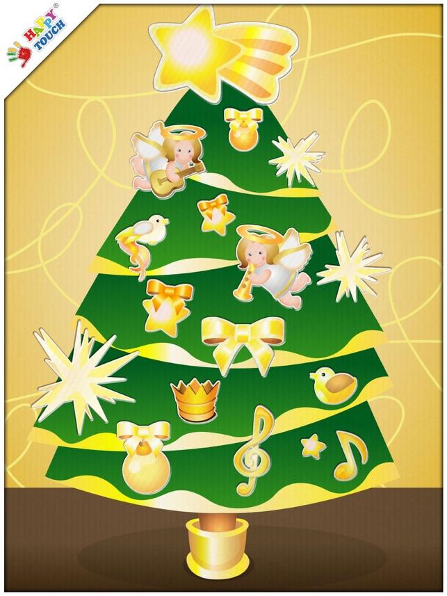 Decoraci n de rbol de navidad para ni os happy touch for App decoracion