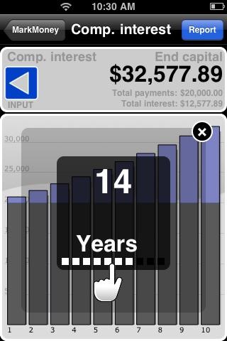 Compound Interest Calculator ✭ powered by MarkMoney ✭ screenshot-3