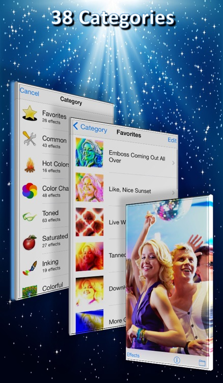 1001 Photo Effects Pro - image fx, filter, color  & splash for your camera pictures