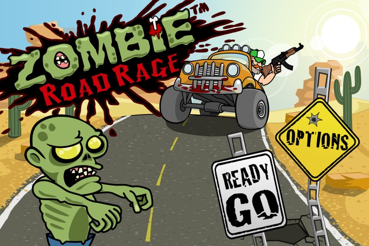 Zombie Road Rage screenshot-3