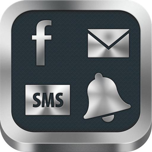 Сигналы для смс, почты, Твиттера и другого.