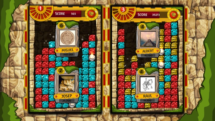 Antique Mayan Blocks - Collapse, Earn, Mash, Trap and Splash Jewel Pieces screenshot-2