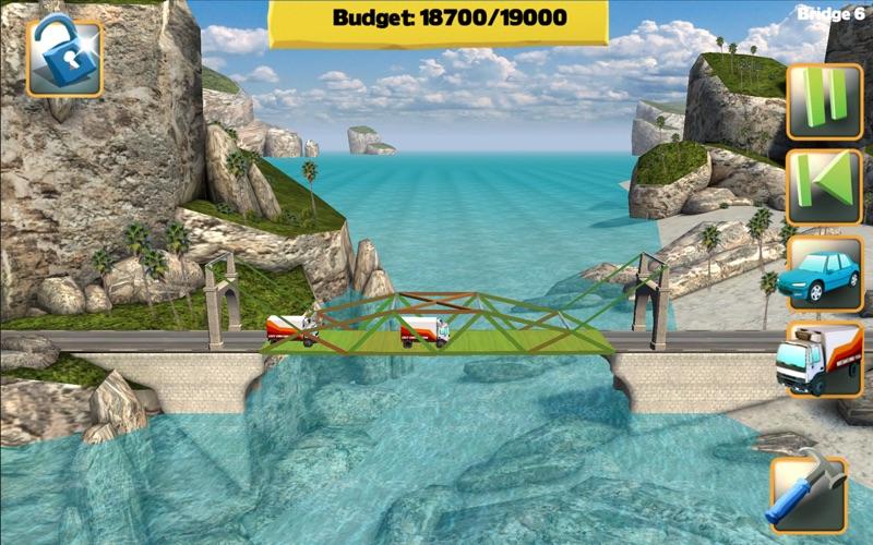 Bridge Constructor FREE Screenshot