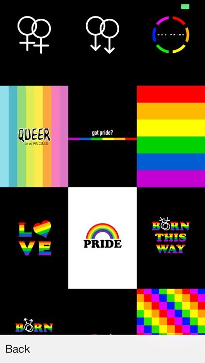 Gay Pride Wallpaper! LGBT Lesbian Gay Bisexual Transgender screenshot-3