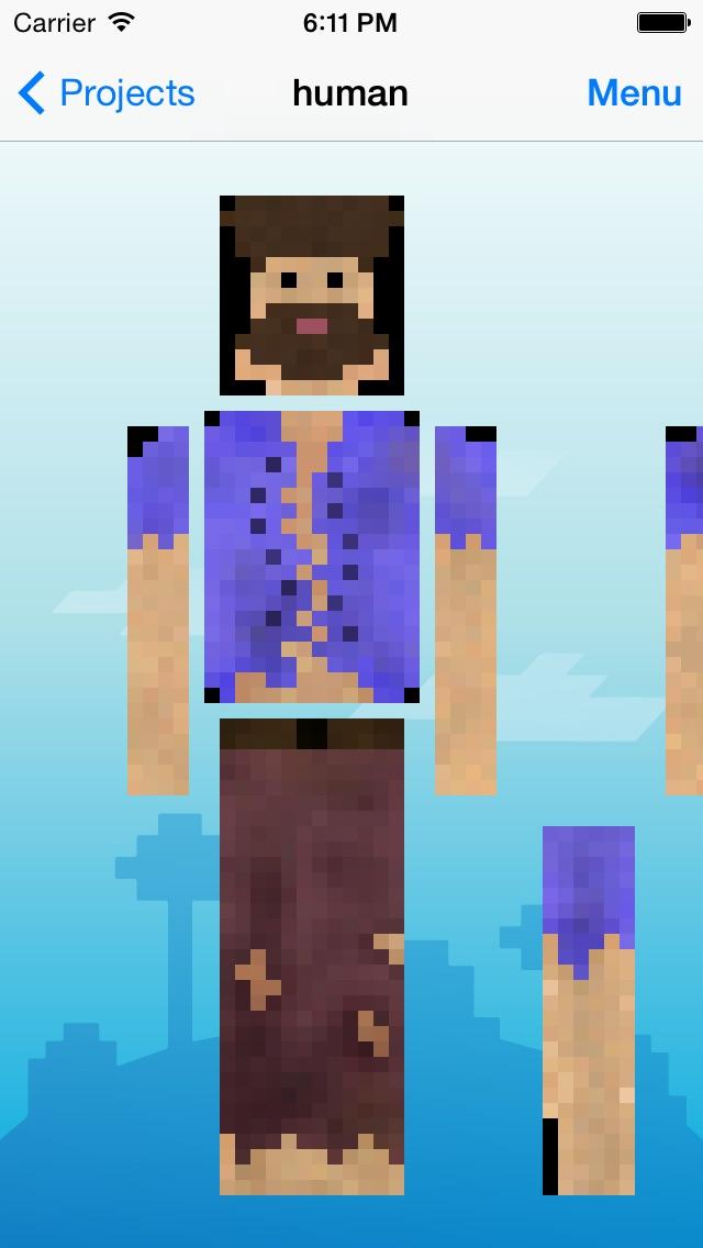 Skin Creator Pro Editor for Survivalcraft Textures Game Skins Screenshot