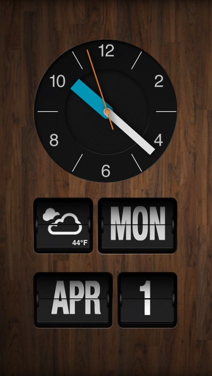 ChronoGrafik-Alarm Clock + Shake to Snooze screenshot-3