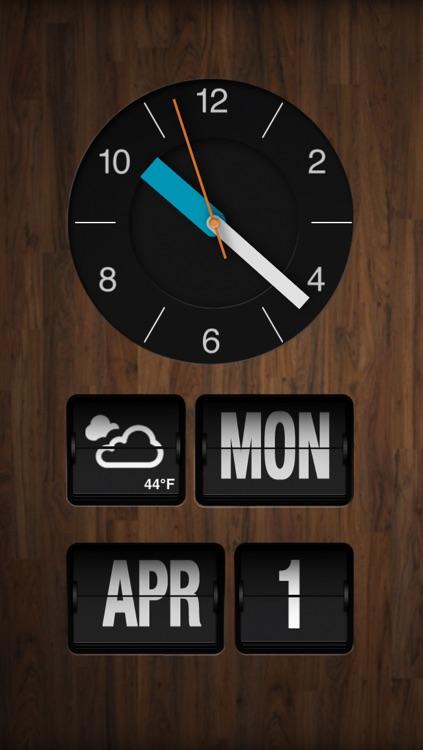 ChronoGrafik-Alarm Clock + Shake to Snooze screenshot-3