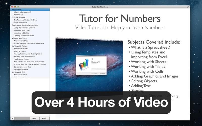 Tutor for Numbers 09 Screenshot