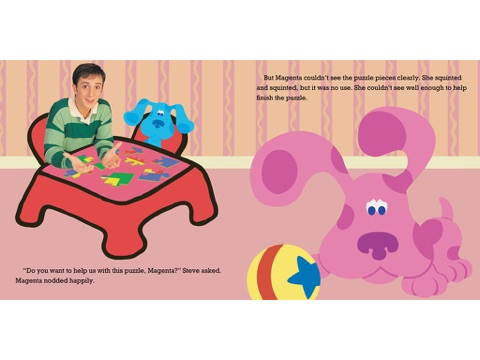Magenta Gets Glasses Blues Clues By Nickelodeon Publishing On