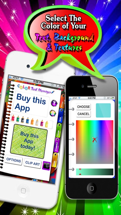 Color Text Messages Lite screenshot-3