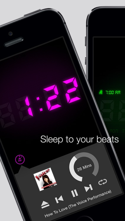 Alarm Tunes - Music Alarm Clock screenshot-0