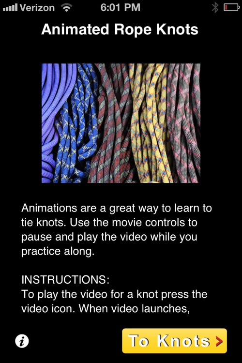 Animated Rope Knots