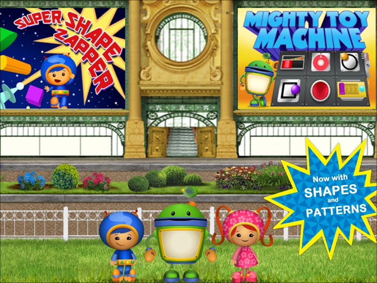 Team Umizoomi Math:  Zoom into Numbers HD screenshot-4
