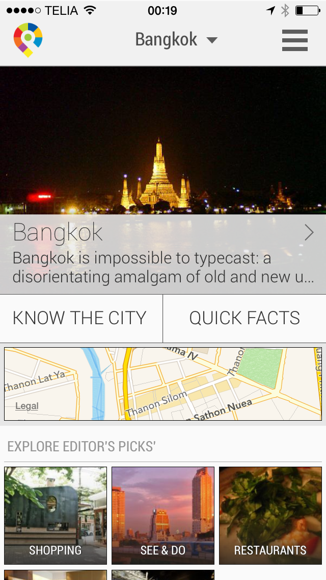 Bangkok City Travel Guide - GuidePal screenshot one