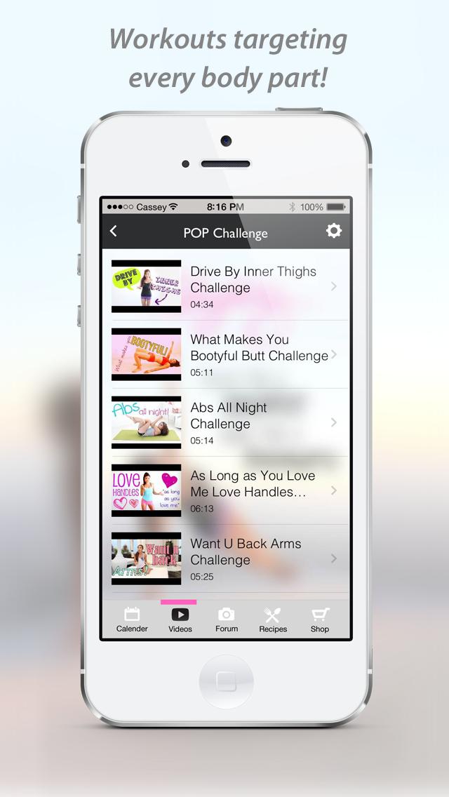 Blogilates Official App Screenshot