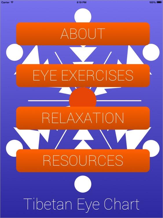 Tibetan Eye Chart HD
