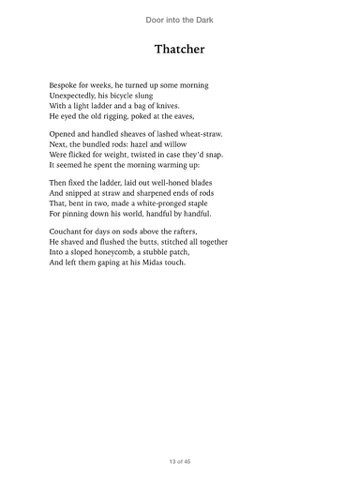 the forge seamus heaney