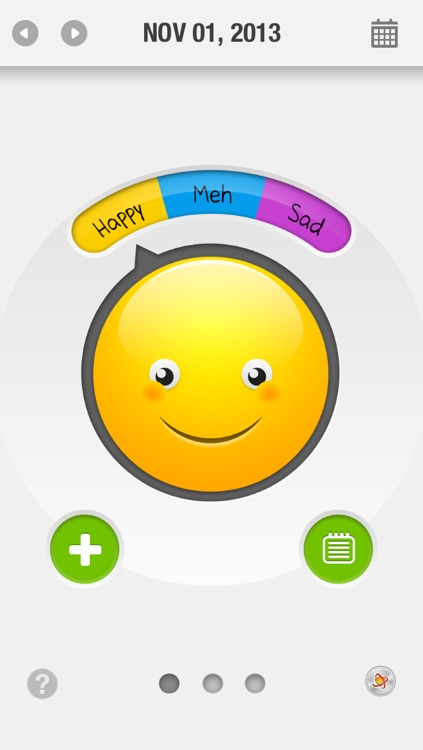 Mood O Scope - Mood Tracker, Mood Journal, Diary, Detector, Scanner & Analyzer - Track & Analyze Mood Patterns